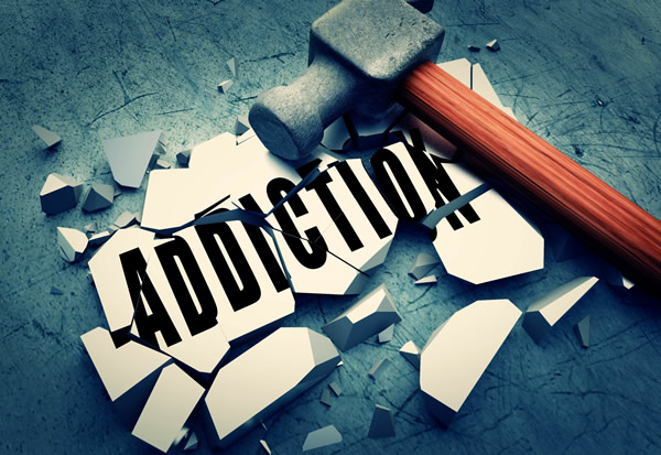 addictions graphic banner image