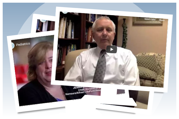 screen captures from The Center for Cognitive and Behavioral Therapy videos
